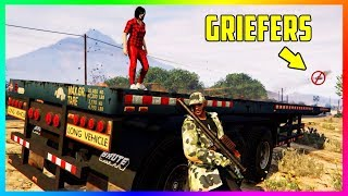 HOW TO NEVER BE KILLED BY A GRIEFER AGAIN IN GTA ONLINE - SECRET LOCATIONS, HIDING SPOTS & MORE!!!