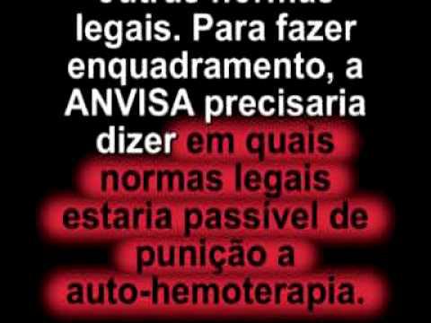 Proibição Ilegal da Auto Hemoterapia