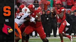 Syracuse vs. Louisville Football Highlights (2017)