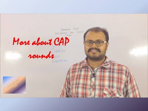 More about CAP round 2017 MHTCET (Engineering admission)