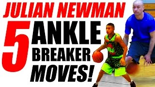 NASTY Julian Newman Crossover Moves: How To BREAK ANKLES In Basketball