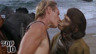 Top 10 Most Awkward Kissing Scenes