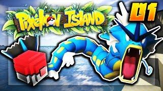 Minecraft PIXELMON ISLAND SMP #1 (Modded Minecraft) w/LandonMC