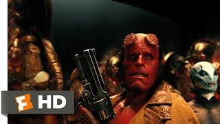 Hellboy 2: The Golden Army (10/10) Movie CLIP - Hellboy vs. The Golden Army (2008) HD