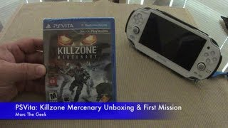 PSVita: Killzone Mercenary Unboxing & First Mission