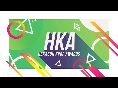 2017 HEXA6ON KPOP AWARD WINNERS