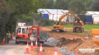 Roadform Ltd - Civil Engineering Contractors - L3060 Road Realignment Project