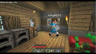 Minecraft SMP Village Madness Part #26: Trekking Back to Base