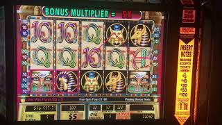 Cleopatra 2 mega jackpot $1,000 a spin