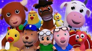 Ten In The Bed | Kindergarten Video For Toddlers | Nursery Rhymes For Babies by Farmees