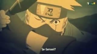 Kakashi sees sensei