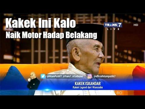 Kakek Legend Naik Motor Hadap Belakang - Hitam Putih 14 Maret 2017