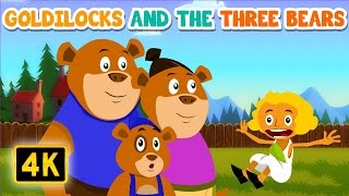 Goldilocks and the three bears | Bedtime Stories | English Stories for Kids and Childrens