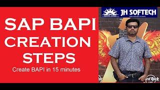 SAP BAPI Creation