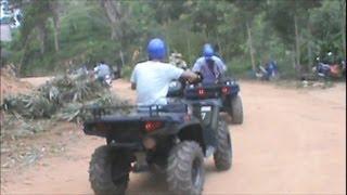 ATV Quad Bikes, Big Buddha Temple, Phuket Thailand Pt2, Travel Vlog