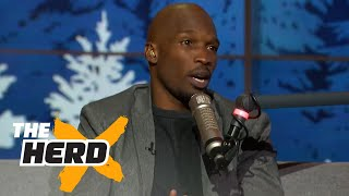Chad Johnson in studio to talk Odell Beckham Jr. and more   THE HERD (FULL INTERVIEW)