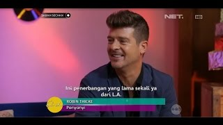 Exclusive Interview With Robin Thicke!