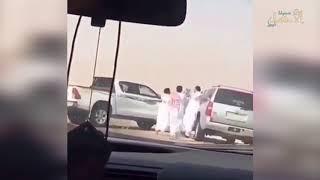 أصحاب الابل المعتدين على المواطن بطريق الأحساء – الرياض في قبضة الأمن