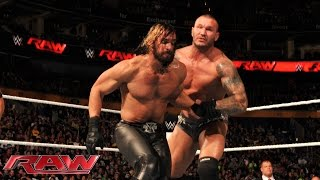 Randy Orton vs. Seth Rollins: Raw, Nov. 3, 2014