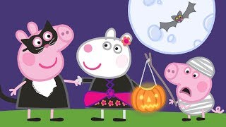 Peppa Pig English Episodes | Pumpkin Carving | Peppa Pig Official