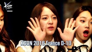 [KCON 2016 France] Star Countdown D-10 by I.O.I