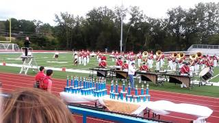 Union Red and Black Brigade 2016 show at Washington band festival
