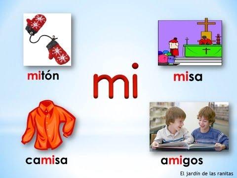 2 Sílabas ma me mi mo mu Syllables with M