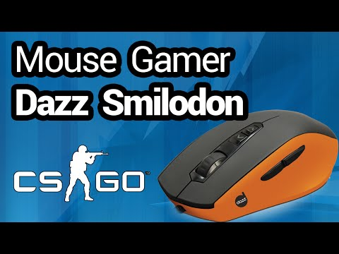 Review e Unboxing - Mouse Gamer Dazz Smilodon