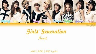 Girls' Generation (SNSD) (소녀시대) – Hoot Lyrics (Han | Rom | Eng | Color Coded)