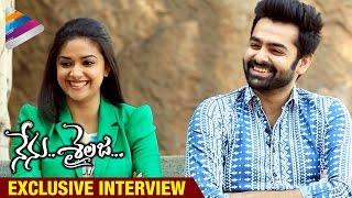 Nenu Sailaja Telugu Movie Exclusive Interview   Ram   Keerthi Suresh   DSP   Telugu Filmnagar