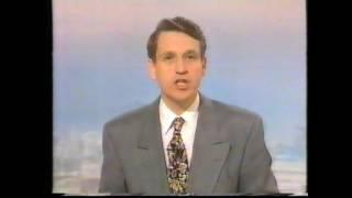 THATCHER RESIGNATION - BBC & ITV NEWSFLASHES