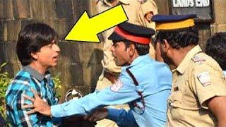 Shahrukh Khan Shooting For FAN Movie Outside Mannat On 50th BIRTHDAY