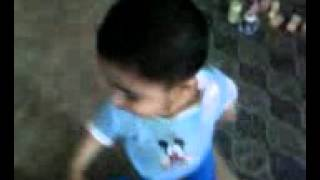 Sassi punnun Sain Mushtaq dance by a baby