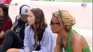 Érica e Filipa dão «surra de bunda» a Carlos