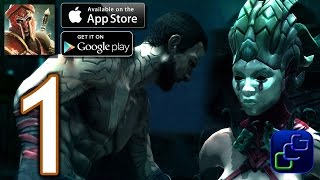 Godfire: Rise of Prometheus Android iOS Walkthrough - Gameplay Part 1 - Forsaken Tomb