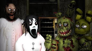 HOW TO MAKE SLENDRINA DUAGHTER OF GRANNY SLENDER FAMILY  NOT SCARYVS SPRINGTRAP & ADVENTURE SPRING T