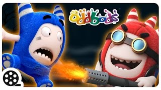 Cartoon | Oddbods - Disturb Thy Neighbours | Mini Cartoon Movie | Funny Cartoons