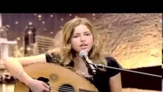 الروعة أمريكية تغني أغنية أم كلثوم شاهدوا  الفيديو