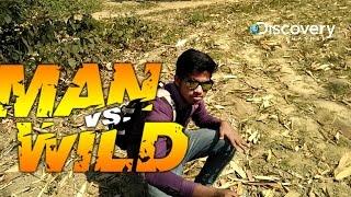 MAN vs WILD (desi_version  ) full comedy with Alok😊😊