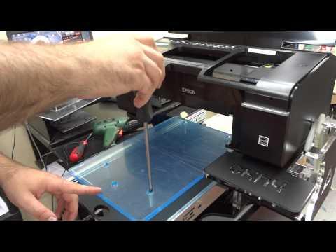 Планшетный принтер для печати по дереву