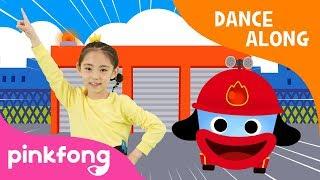 Hurry Hurry Fire Truck   Car Song   Dance Along   Pinkfong Songs for Children