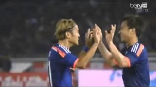 هدف اليابان امام العراق الهدف الثالث