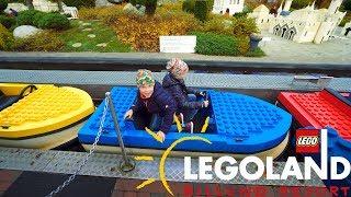 Legoland Mini Boat Ride