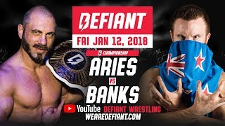 Defiant Wrestling #5: Full Show - Austin Aries vs. Travis Banks