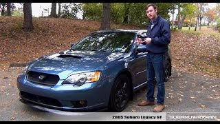 Review: 2005 Subaru Legacy GT