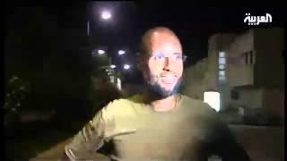 سيف الإسلام القذافي متجولاً في طرابلس  والدي بخير والعاصمة تحت سيطرتنا