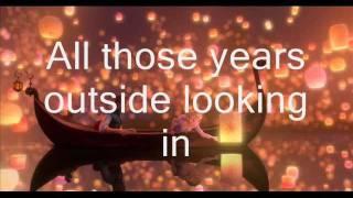 I See The Light- Lyrics On Screen