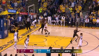 4th Quarter, One Box Video: Golden State Warriors vs. Cleveland Cavaliers