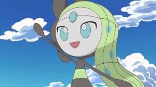 Pokemon Best Wishes Season 2 Anime BGM - Meloetta's Farewell