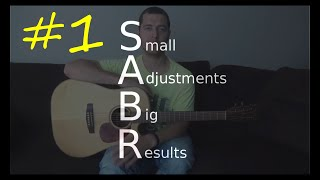 SABR #1 - How to fix a scratchy fingerpicking sound (common error for fingerstyle guitarists)